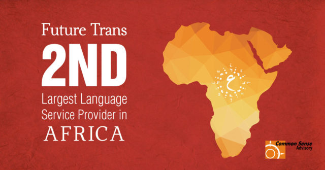 Future Trans Limited Named Second Largest Language Service Provider In Africa