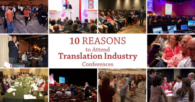 five reasons to attend Translation industry conference 3