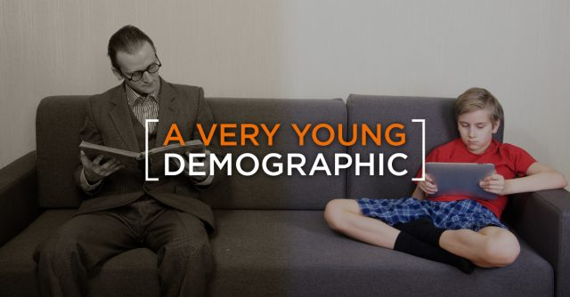 A-very-young-demographic