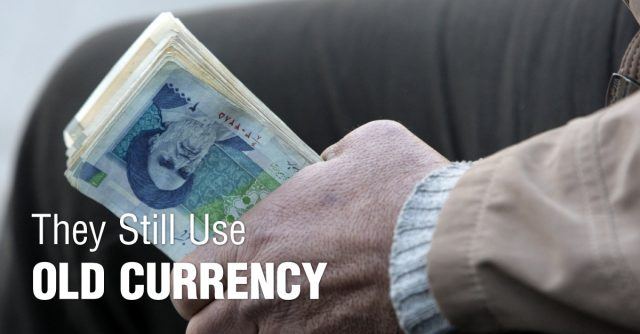 They-Still-use-Old-Currency