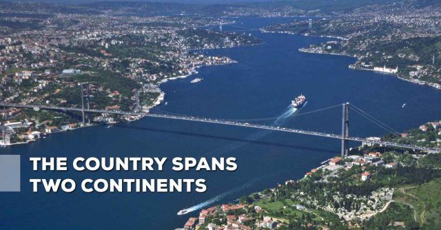 The-country-spans-two-continents