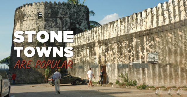 'Stone towns' are popular