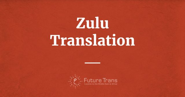 Zulu Translation Services